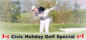 Wooden Sticks Golf Club, Stay And Play Packages, Civic Holiday Golf Special, Golf In Uxbridge, August Golf Specials