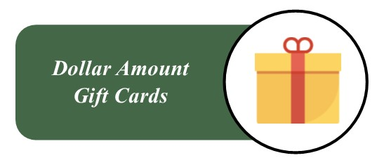 Wooden Sticks Golf Club, Dollar Amount Gift Cards, Golf Gift Cards, Dining Gift Cards, Entertainment Gift Cards, Gift Card Packages,