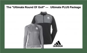 Wooden Sticks Golf Package, Ultimate Round Of Golf, Wooden Sticks Adidas Outer Wear, Ultimate PLUS Golf Package, Holiday Golf Gifts, Holiday Golf Packages,