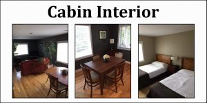 Wooden Sticks Golf Club, Cabin Accommodations, Cabin Amenities, Cabin Interior, Golf Course Accommodations,