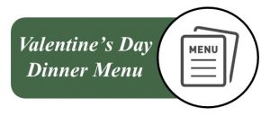 Wooden Sticks Golf Club, Valentine's Day Dinner Menu, Public Dining Menu, Valentine's Day Dinner, Couples Dining Events, Romantic Dinner Events, Uxbridge Dining Events,