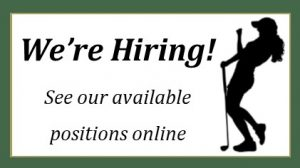 Wooden Sticks Golf Club, We're Hiring, Golf Course Employment, Golf Course Careers, Uxbridge Employment
