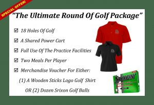 Wooden Sticks Golf Club, Ultimate Round Of Golf, Golf Gift Package, Limited Time Special Offer, Golf Special Offers,