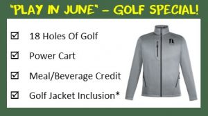Wooden Sticks Golf Club, Play In June Golf Specials, Wooden Sticks Jacket Special, Wooden Sticks Golf Specials, Golf Course Specials,