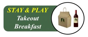 Wooden Sticks Golf Club, Stay And Play Takeout Breakfast Menu, Stay And Play Takeout Breakfast, Uxbridge Takeout