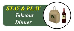 Wooden Sticks Golf Club, Stay And Play Takeout Dinner Menu, Stay And Play Takeout Dinner, Uxbridge Takeout