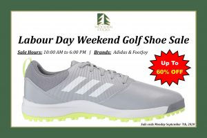 Wooden Sticks Golf Club, Labour Day Weekend, Golf Shoe Sale, Adidas Golf Shoes, FootJoy Golf Shoes, 60% OFF, Golf Shoe Sale, Uxbridge Pro Shop,