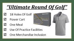 Wooden Sticks Golf Club, Ultimate Round Of Golf, Golf Gift Packages, Golf Specials,